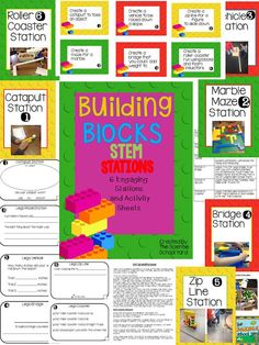 Building Blocks Stations: Playing With Purpose by The Science School Yard