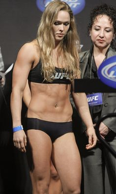 Ronda Rousey.. Fitness inspiration!