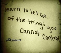 Cannot control