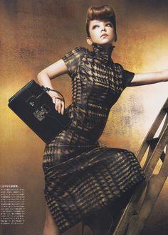 Namie Amuro by Chito Yoshida for Vogue Japan October 2013 Japanese Beauty, Asian Beauty, Photography Women, Fashion Photography, Good Girl, Vogue Japan, Japanese Models, High Neck Dress, Celebs
