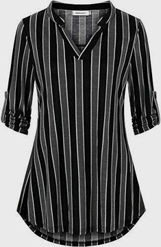 Black Denim Shirt, Stylish Dress Designs, Kurta Designs Women, Elegantes Outfit, Casual Tops For Women, Winter Outfits Women, How To Roll Sleeves, Work Casual, Long Sleeve Shirts