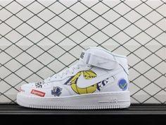 new style 6feaa 2b79c Supreme x NBA x Nike Air Force 1 Mid AQ8017-100