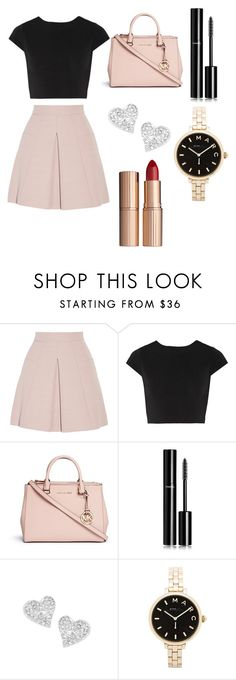 """""""Chic"""" by bianca-diana-popovici ❤ liked on Polyvore featuring Alexander McQueen, Alice + Olivia, Michael Kors, Chanel, Vivienne Westwood, Marc by Marc Jacobs and Charlotte Tilbury"""