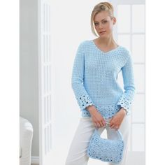 Lacy Tunic and Purse