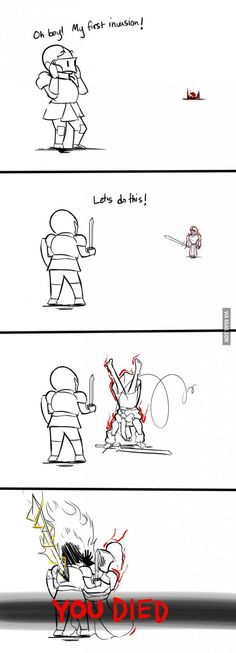 Pretty much sums up all my pvp experience. - 9GAG