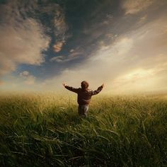 arms wide open...Michael Vincent Manalo
