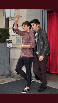 Louis Tomlinson, Zayn, Larry, Find Image, We Heart It, One Direction Pictures