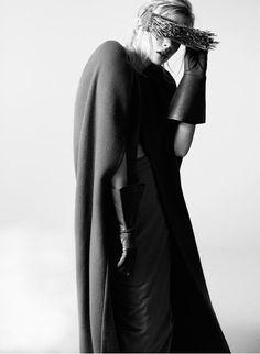 Rick Owens.  | macabre | high fashion | goth | editorial | dark fashion