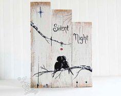 Rustic Wood Signs Reclaimed Wood Art Love by LindaFehlenGallery