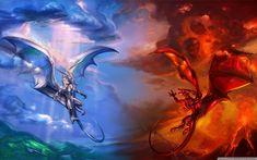 Fantasia Dragão  Papel de Parede
