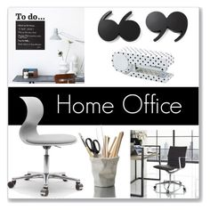 """Home Office"" by farmgirl2015 ❤ liked on Polyvore featuring interior, interiors, interior design, home, home decor, interior decorating, ferm LIVING, Modway, Kate Spade and ESSEY"