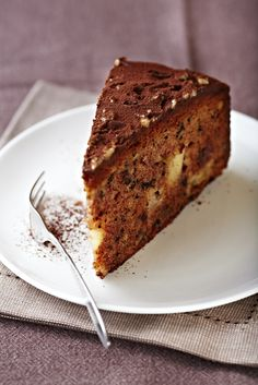 Walnut and Chocolate Brownie/Prajitura pufoasa cu nuci si ciocolata