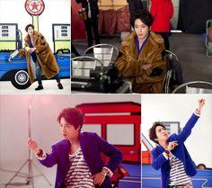 150109 [Naver Music] Yonghwa's Mileage MV Making Stills