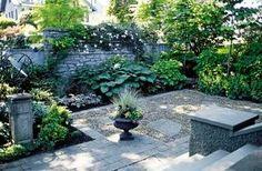 Big ideas, small garden