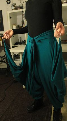 Colorful Hinja Pants / Samurai Swag / Unisex Clothing / Minimal Look, Bohemian Clothing, Samurai, Swag, Colorful, Unisex, Legs, Stylish, Pants