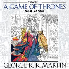 So excited for the Game of Thrones coloring book!