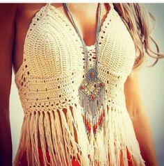 Top crop crochet | Caseros | alaMaula | 112773861