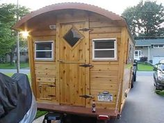 Building a Gypsy Wagon - NOW (Tiny House, RV, Vardo, Travel Trailer) - YouTube