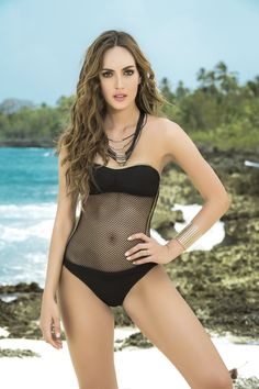 63bf245192 Sexy Mesh One-Piece Swimsuit from PIRATA COUTURE