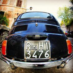 Fiat 500 VS Fisheye, Rome