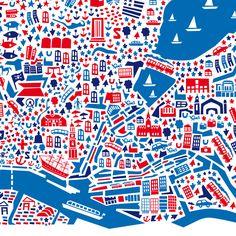 City Map Poster Hamburg