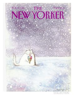 The New Yorker Cover - February 8, 1988 Premium Giclee Print