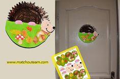 Petit hérisson en assiette en carton       Kit récréatif du petit hérisson  à imprimer !