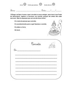 Modelos de escrita   convite