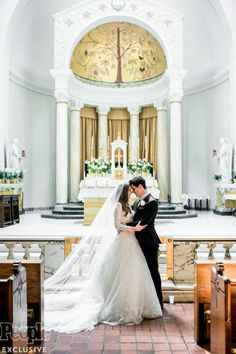PHOTOS: All the Details from David Henrie and Maria Cahill's Old Hollywood-Inspired Wedding