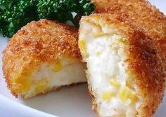 Potato & Corn Cream Croquettes