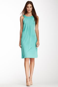 Pleated Wrap Dress on HauteLook