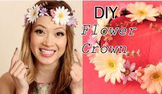 DIY (HowTo) Flower Crown / Flower Halo