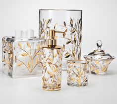 1000 images about gorgeous gold bath accessories on for Bathroom accessories made in italy
