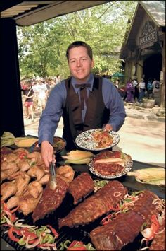 The House of BBQ.  THIS PICTURE WAS TAKEN AT THE AMUSEMENT PARK SILVER DOLLAR CITY IN BEAUTIFUL BRANSON MISSOURI:-)