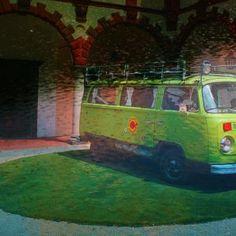 retro green car from Qr Code Generator, Van, Retro, Green, Vans, Rustic