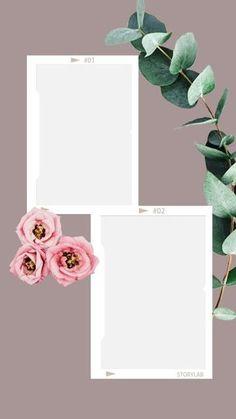 Ini apa to Story Instagram, Creative Instagram Stories, Instagram Design, Free Instagram, Polaroid Picture Frame, Polaroid Pictures, Aesthetic Pastel Wallpaper, Aesthetic Wallpapers, Instagram Frame Template