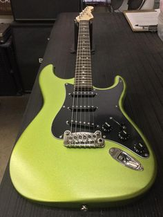 G&L Musical Instruments Here's a Legacy in Margarita Frost, 3-ply black guard, rosewood board, Light Tint Satin neck finish.