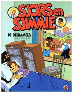 Sjors en Sjimmie, door Robert van der Kroft