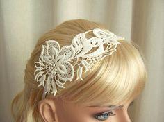 Lace headband by Janny Dangerous