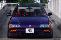 https://flic.kr/p/dyL4JV | Honda Civic EF | Jack's Midnight Purple Civic EF  High Comp Forged B18C ITR engine
