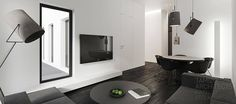 Interior Design In Black & White, Tamizo Architects