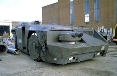 'APC' (Armored Personnel Carrier) from 'Alien' built on the 635 hp Hunslet ATT 77 Aircraft Tug Tractor