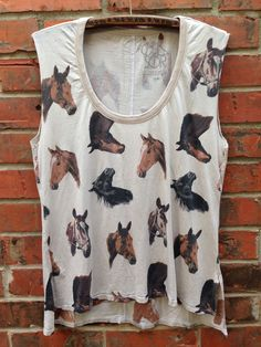 | chaser | 'equestrian' muscle tank