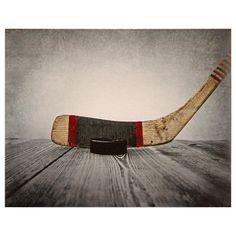 Canvas - Vintage Hockey/CANVAS ART/WALL DECOR/KIDS/KIDS & BABY|Bouclair.com
