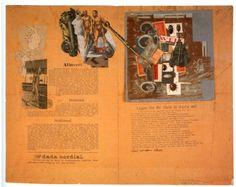 Raoul Hausmann, Hannah Höch,Dada Cordial, c. 1920, collage, 45 x 58 cm.