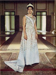 Empress Farah Pahlavi - The Shahbanou of Iran, 1966