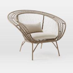Modern Peacock Chair | west elm