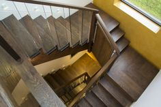 Stairs and hallways are often overlooked spaces Reclaimed Oak Flooring, Engineered Oak Flooring, Underfloor Heating, Hallways, Solid Oak, Craftsman, Stairs, The Originals, Home Decor