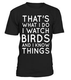 Bird Lover Birdwatcher Shirt for Men Women Kids Birth Day  Funny Birds T-shirt, Best Birds T-shirt