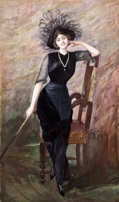 Portrait of Vittoria Lepanto. Pietro Scoppetta (Italian, 1863-1920):